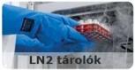 LN2 folyékony nitrogén tárolók