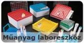 Műanyag laboreszközök